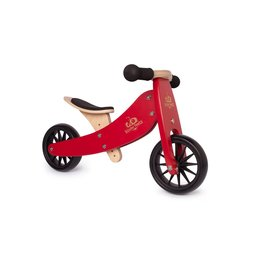 Kinderfeets Kinderfeets Tiny Tot Balance Bike cherry red