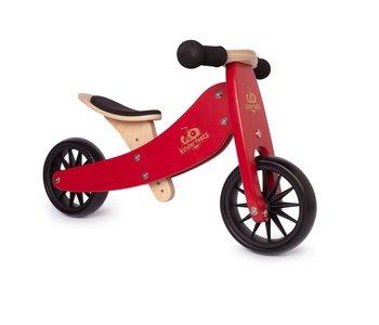 Kinderfeets Tiny Tot Balance Bike cherry red