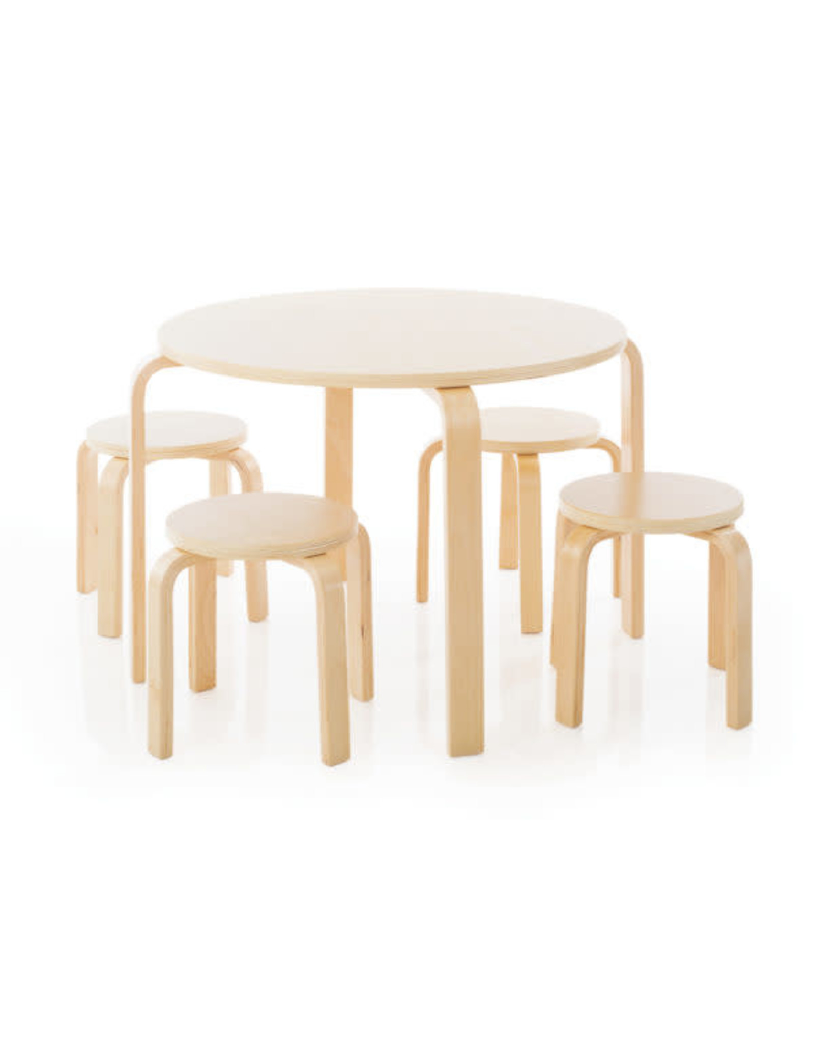 Guidecraft Nordic Table Set natural