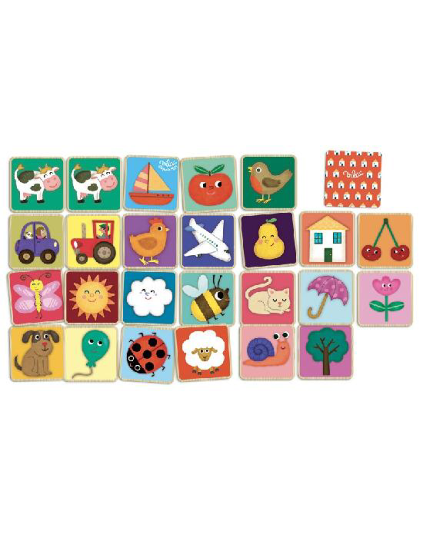 Vilac Classic Wooden Memory Game