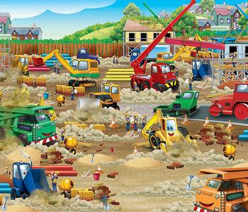 Construction Zone 36pc Floor Puzzle