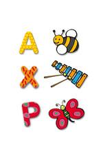 Djeco Wooden Alphabet Puzzle French (uppercase)
