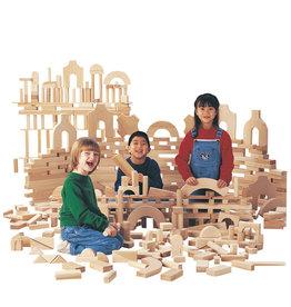 Jonti Craft Jonti Craft Unit Blocks Starter Set (86pc, 14 shapes)
