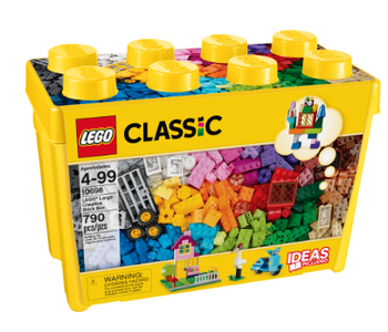 LEGO® Large Creative Brick Box 790pc