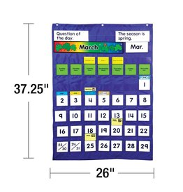 Carson Dellosa Complete Calendar & Weather Pocket Chart