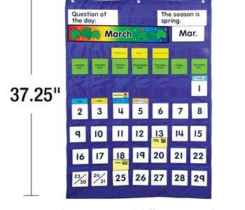 Complete Calendar & Weather Pocket Chart