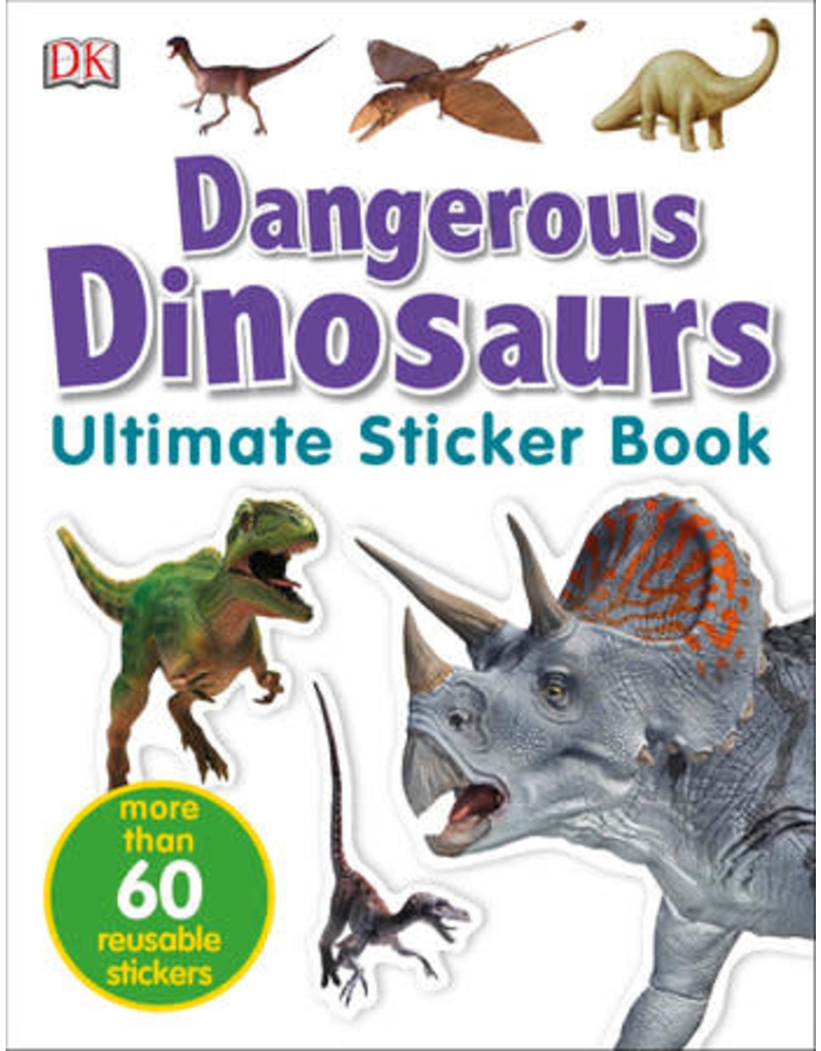 DK Dangerous Dinosaurs Ultimate Sticker Book