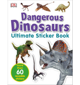 DK Dangerous Dinosaurs Ultimate Sticker Book