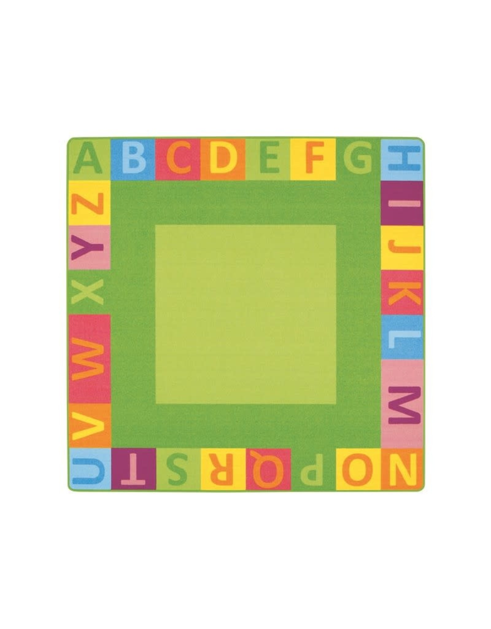 Wesco Wesco Alphabet Mighty Rug 78.75 x 78.75""