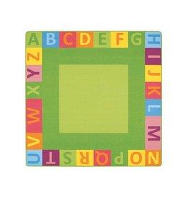 """Wesco Wesco Alphabet Mighty Rug 78.75 x 78.75"""""""