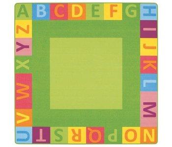 "Wesco Alphabet Mighty Rug 78.75 x 78.75"""