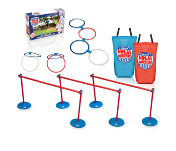 American Ninja Warrior Obstacle Course Race Set 37pc