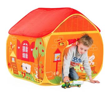 Pop-It-Up Farm Play Tent
