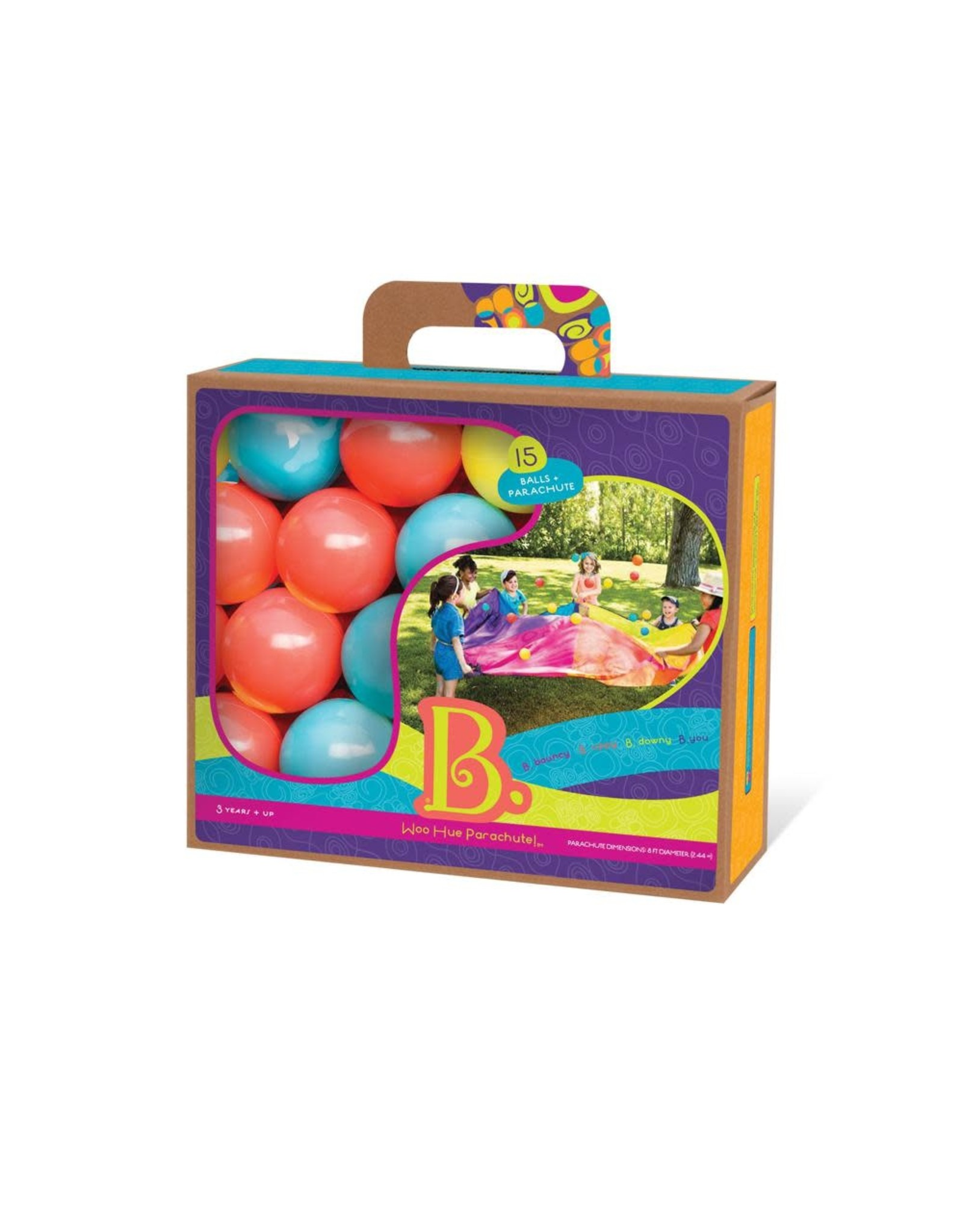 B. B. Woo Hue Parachute & 15 Balls