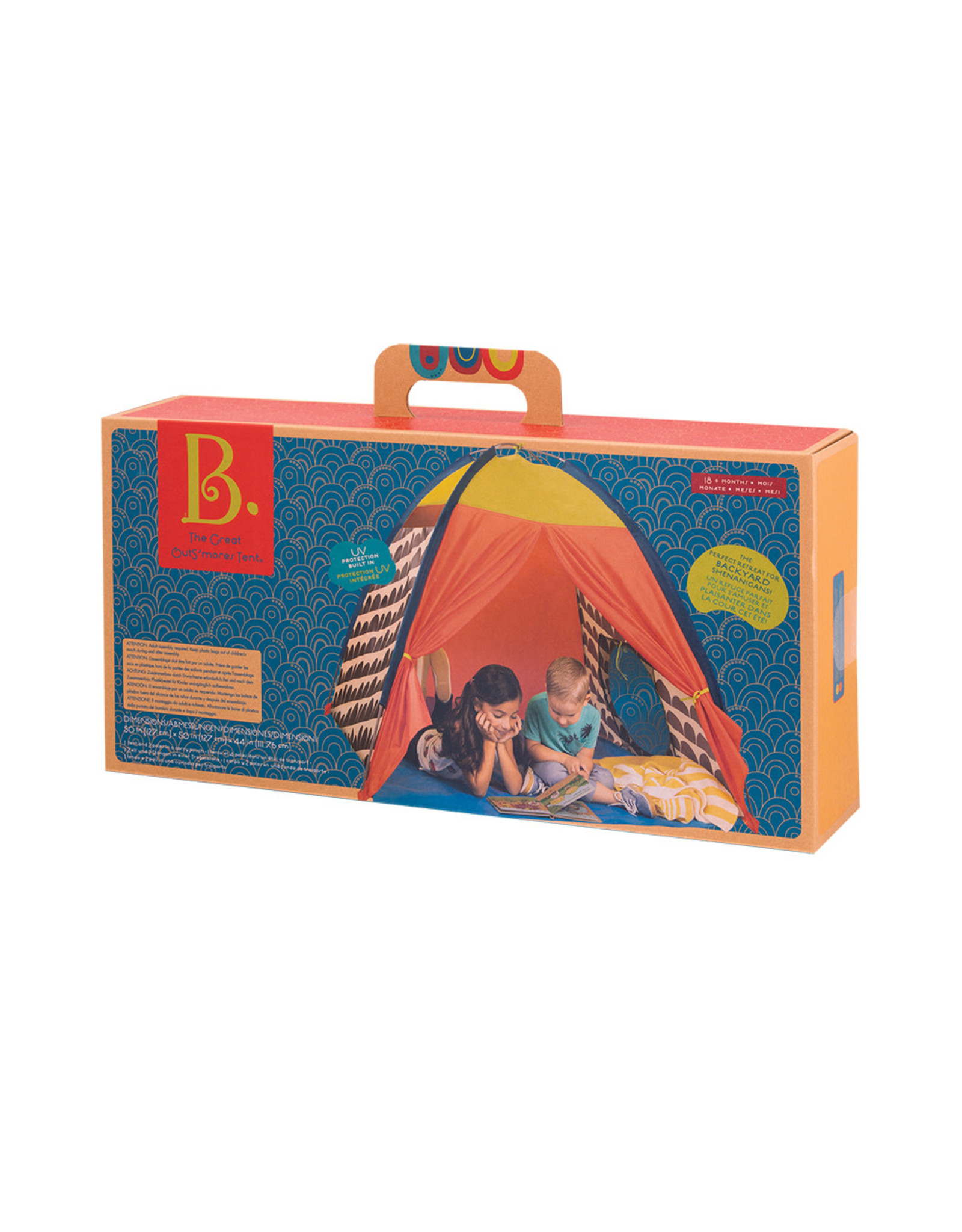 B. B. The Great OutS'mores Tent Anti-UV