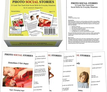 Photo Social Stories Social Situations Card Game