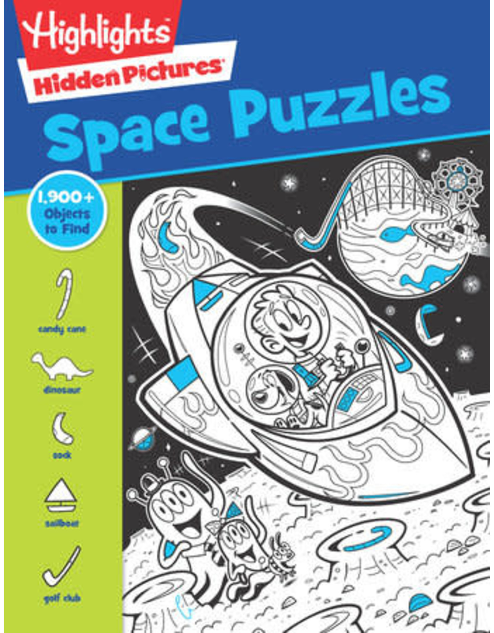 Highlights Highlights Space Puzzles