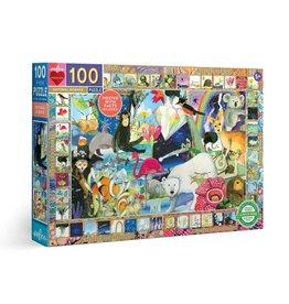 eeBoo Natural Science 100pc Puzzle