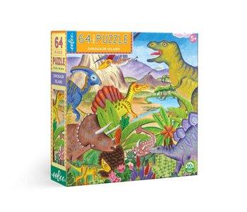 Dinosaur Island 64pc Puzzle