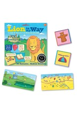 eeBoo Lion in My Way - Problem Solving Game