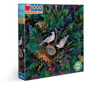 Birds in Fern 1000pc Puzzle
