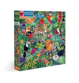 eeBoo Amazon Rainforest 1000pc Puzzle