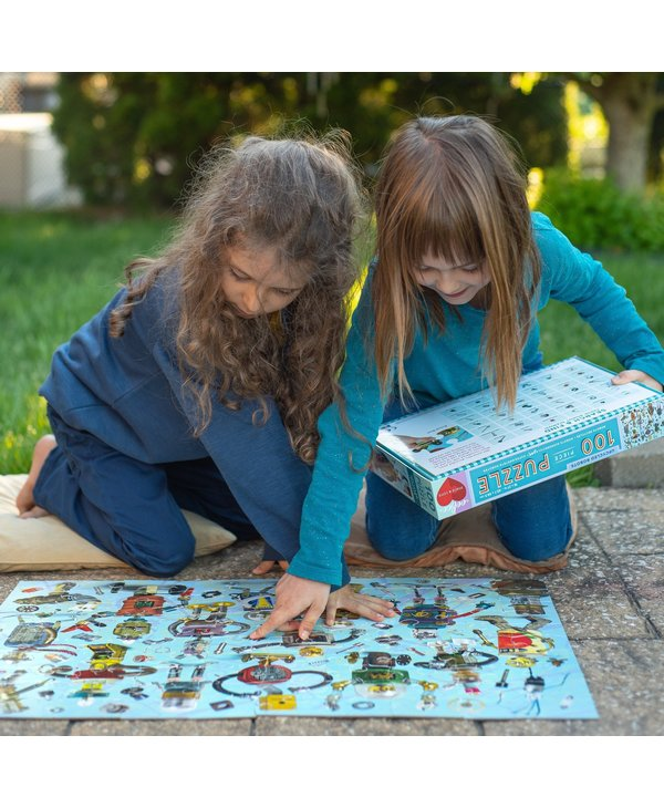 Upcycled Robots 100pc Puzzle
