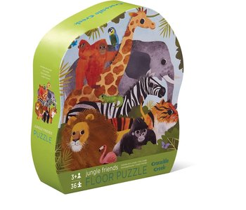 Jungle Friends 36pc Floor Puzzle