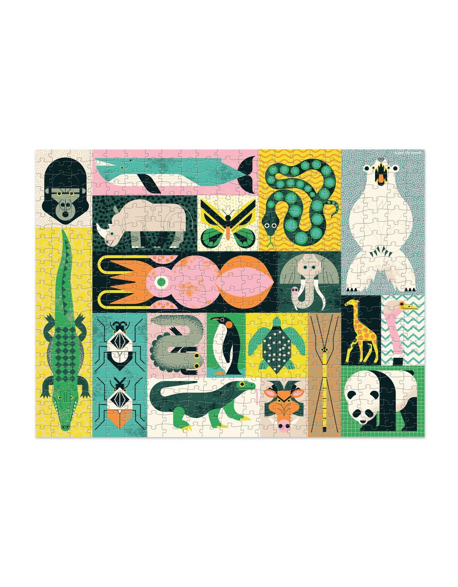 Crocodile Creek Animal Giants 500pc Puzzle