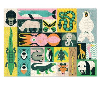 Animal Giants 500pc Puzzle