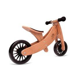Kinderfeets Kinderfeets 2 in 1 Tiny Tots PLUS Balance Bike bamboo
