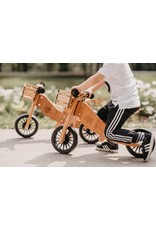 Kinderfeets Kinderfeets 2 in 1 Tiny Tots PLUS Balance Bike bamboo