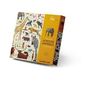 AFRICAN ANIMALS 750pc Puzzle