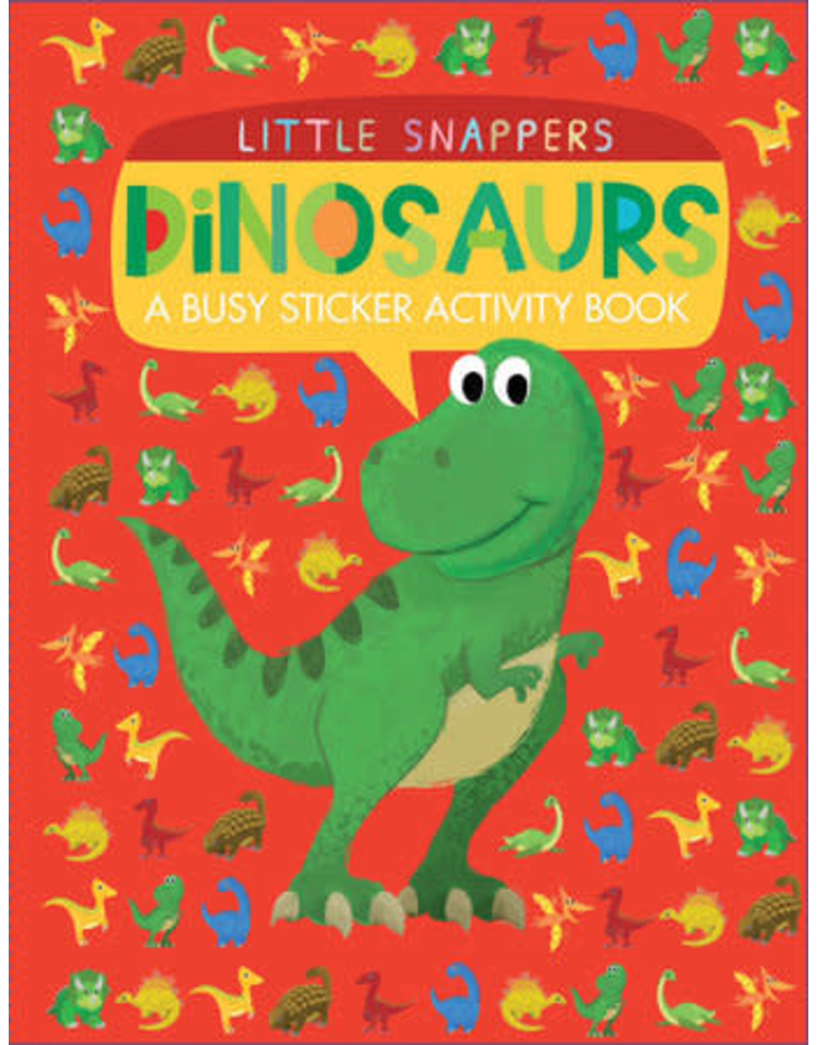 Tiger Tales Little Snapper's Dinosaurs Sticker Activity Book