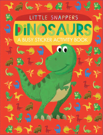 Little Snapper's Dinosaurs Sticker Activity Book