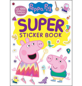 Golden Peppa Pig Super Sticker Book