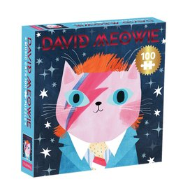 Mudpuppy David Meowie Music Cat 100pc Puzzle