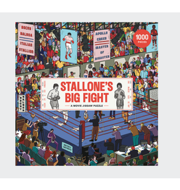 Laurence King Stallone's Big Fight 1000pc Puzzle