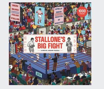 Stallone's Big Fight 1000pc Puzzle