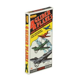 Schylling Retro Glider Plane 4pc