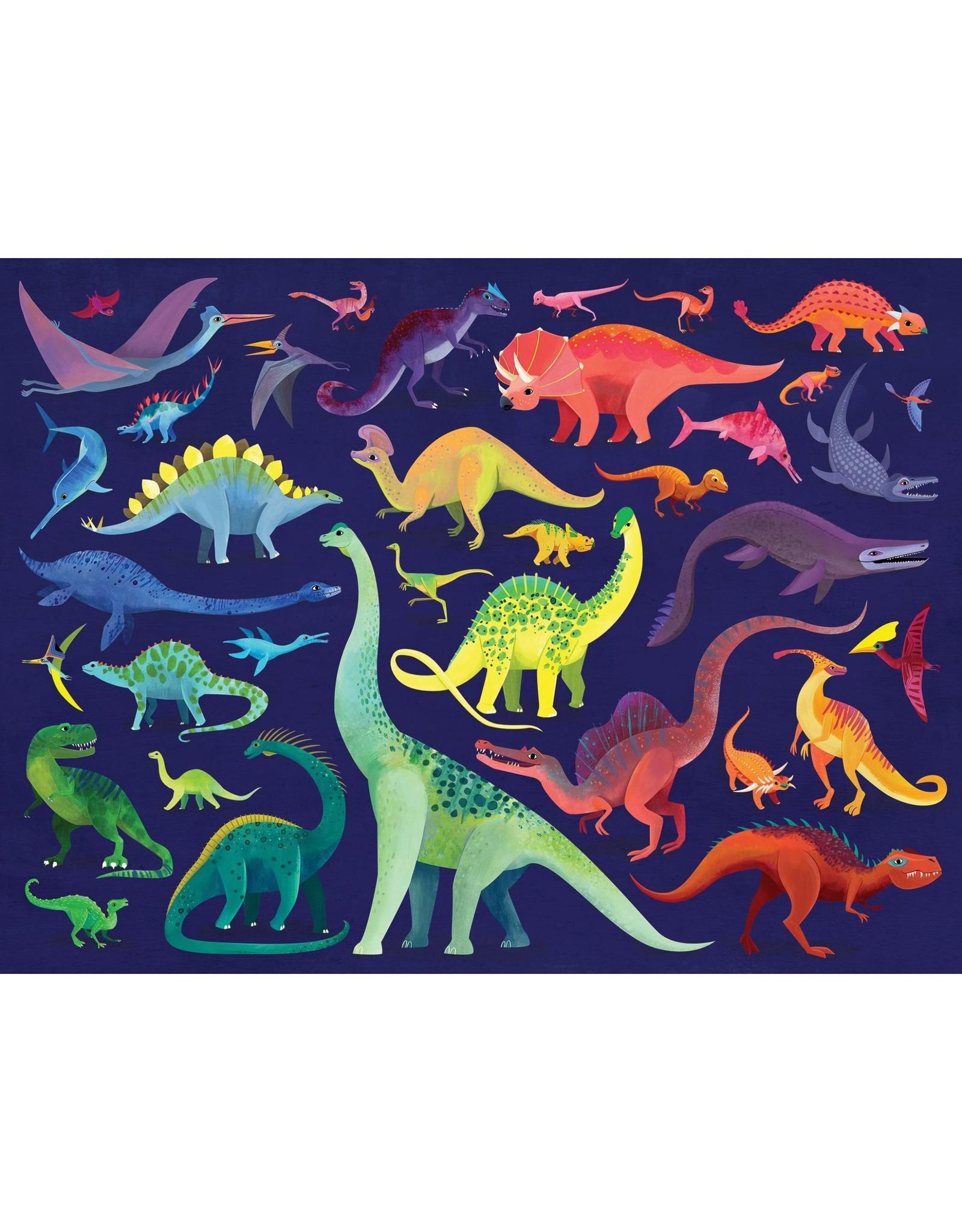 Crocodile Creek Dino World 500pc Puzzle