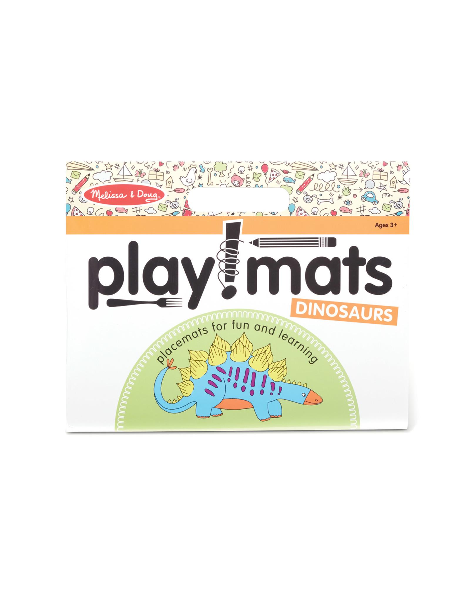 Melissa & Doug Dinosaur Playmats