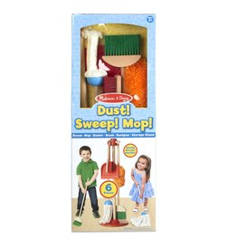 Melissa & Doug Let's Play House! Dust, Sweep, and Mop