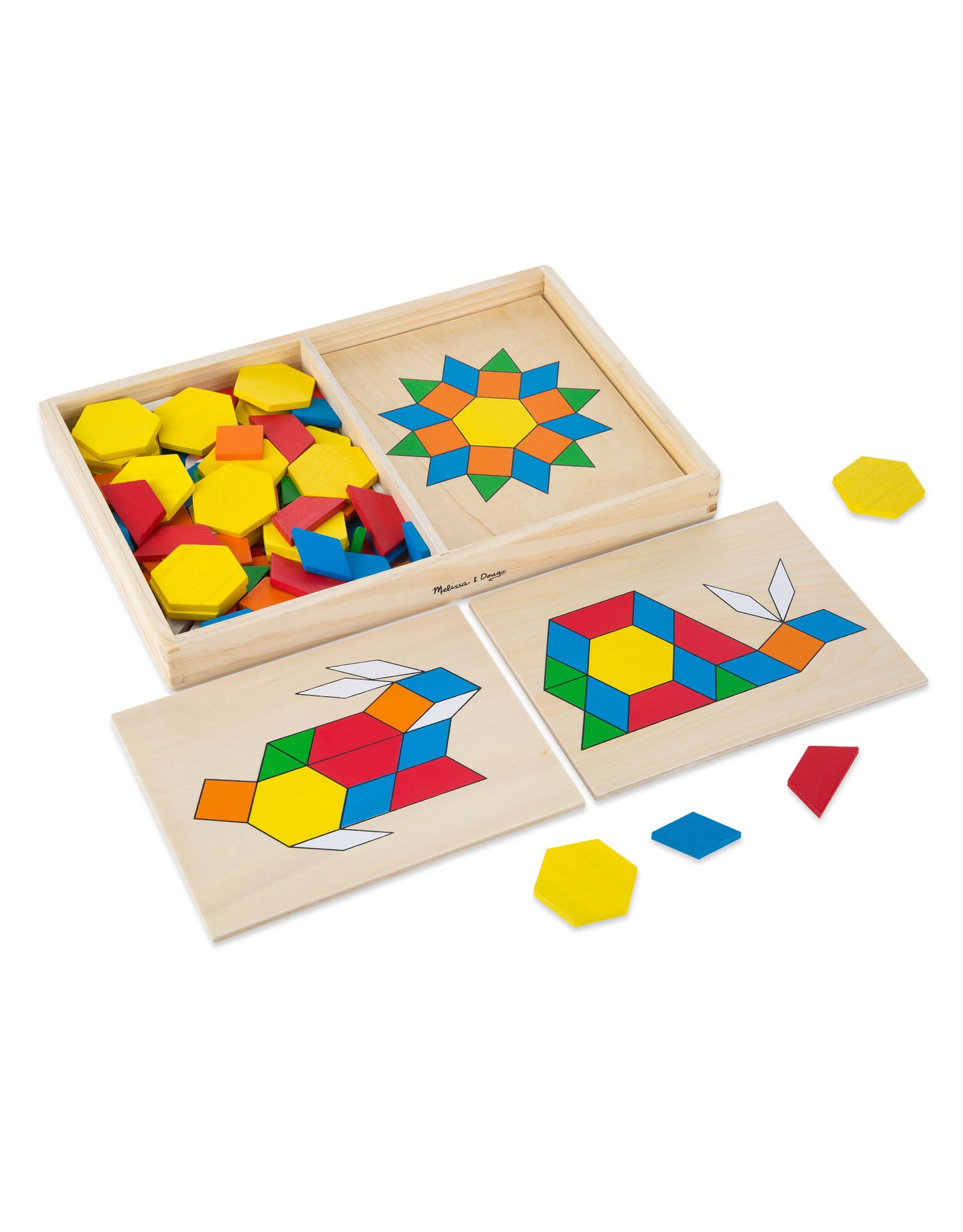 Melissa & Doug Pattern Blocks & Boards