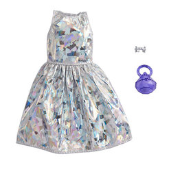 Mattel Barbie Complete Look Outfit - Silver Dress