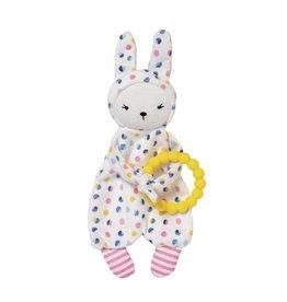 Manhattan Toy Cherry Blossom Teether Baby Bunny