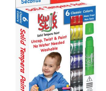Kwik Stix Paint Sticks Classic 6pc