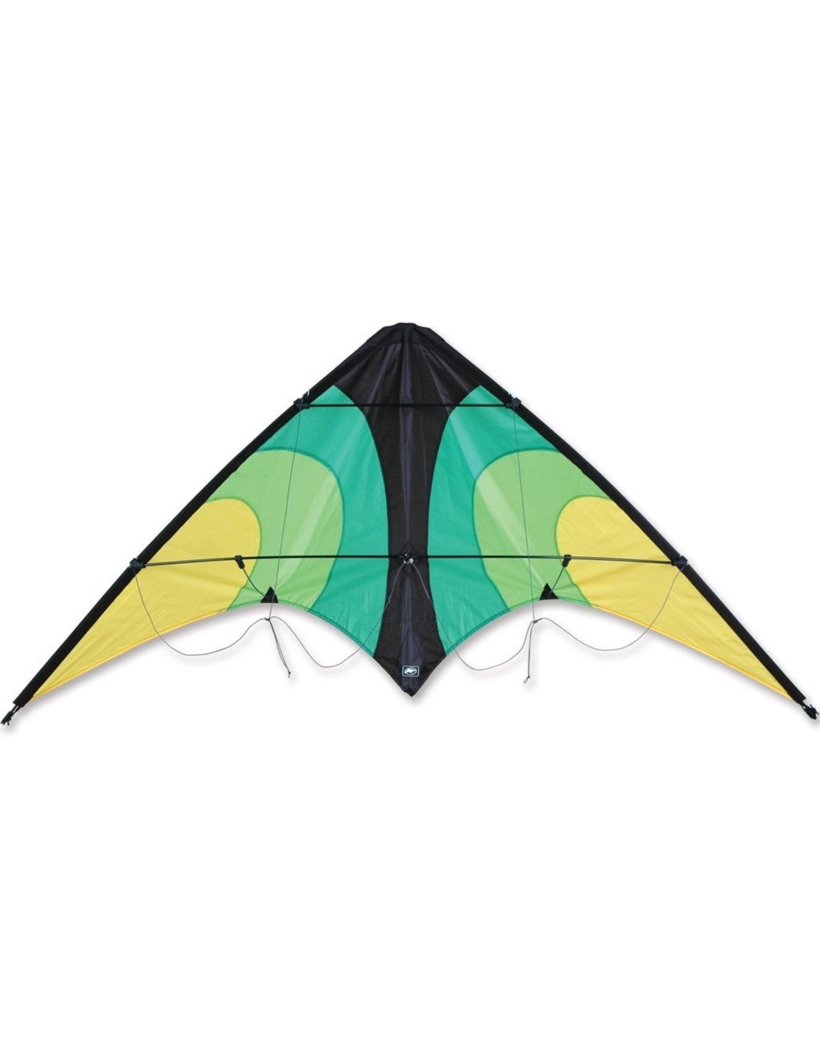 Premier Kites Lightning Dual Line Sport Kite Emerald
