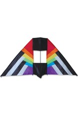 Premier Kites 5.5 ft Box Delta Rainbow Spectrum Kite