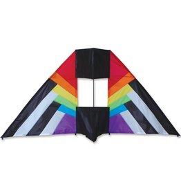 Premier Kites 5.5 ft Box Delta Rainbow Spectrum Kite